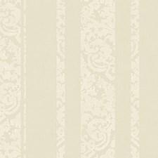 Golden Cream/White Damask Wallcovering by York