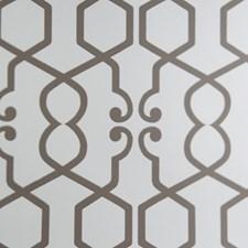 Natural Geometric Wallcovering by Clarke & Clarke
