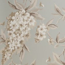 Duckegg Floral Large Wallcovering by Clarke & Clarke