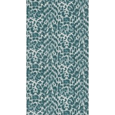 Teal/Lime Animal Skins Wallcovering by Clarke & Clarke