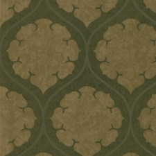 Brown Damask Wallcovering by Kravet Wallpaper