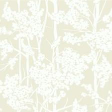 Beige/Ivory Botanical Wallcovering by Kravet Wallpaper