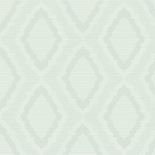 White/Light Green/Metallic Damask Wallcovering by Kravet Wallpaper