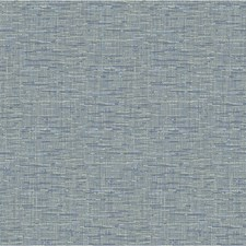 Blue Solid Wallcovering by Kravet Wallpaper