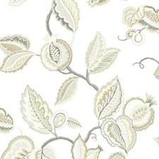 Cream/Lead Gray/Graphite Gray Bohemian Wallcovering by York