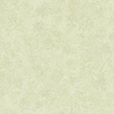Toasted Almond/Ecru/Misted Aqua Floral Medium Wallcovering by York