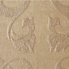 Glistening Gold Damask Wallcovering by Winfield Thybony