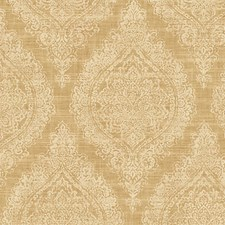 Gold Silver Wallcovering by Scalamandre Wallpaper