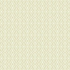 Ecru/White Harlequin Wallcovering by York