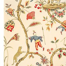 Ecru Wallcovering by Scalamandre Wallpaper