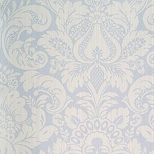 Canton Blue Wallcovering by Scalamandre Wallpaper