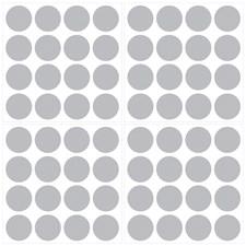 WPD1807 Metallic Silver Confetti Dots by Brewster