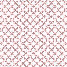 White/Red/Orange Geometrics Wallcovering by York