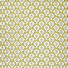 Curry Yellow Wallcovering by Clarence House Wallpaper